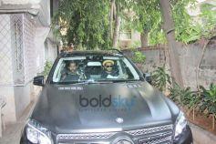 Ranveer Singh And Alia Bhatt Spotted At Excel Office Khar
