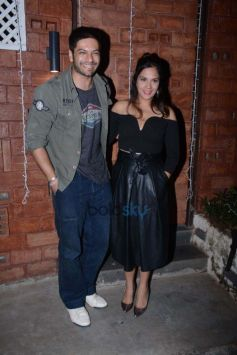 Richa Chadda And Ali Fazal Spotted At Harry's Bar And Cafe In Juhu