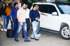 Salman Khan With Family Spotted At Kalina Airport