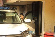 Sara Ali Khan Spotted At Gym In Bandra
