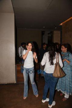 Shahid Kapoor And Mira Rajput At Screening Of 'Tiger Zinda Hai'