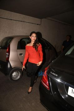 Shahid Kapoor And Mira Rajput At Screening Of 'Tiger Zinda Hai'