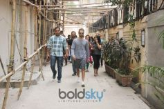 Shahid Kapoor Spotted At Bandra