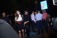 Shahid Kapoor Spotted At CinCin BKC Bandra