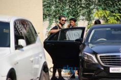 Shahid Kapoor Spotted At Gym
