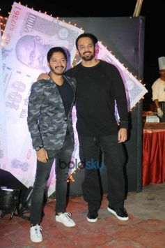 Shreyas Talpade And Rohit Shetty At The Music & Trailer Release Of Film 'Yere Yere Paisa'