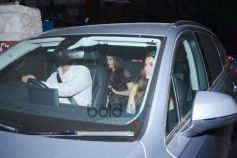 Sushant Singh Rajput , Kriti Sanon Spotted At Nupur Sanon's Birthday Party Barrel Andheri