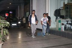 Varun Dhawan And Kartik Aryan Spotted At Gym In Bandra