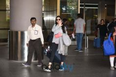 Virat Kohli And Anushka Sharma At Mumbai Airport