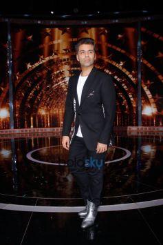 Sidharth Malhotra, Karan Johar And Rohit Shetty Snapped On The Sets Of Indias Next Superstars