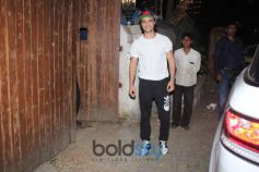 Aayush Sharma Spotted At Dance Class In Bandra