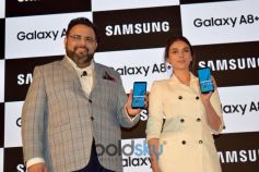 Aditi Rao Hydari At Launch Of Samsung Galaxy A+ In New Delhi