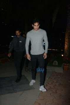 Ahan Shetty With Friend Spotted At BKC
