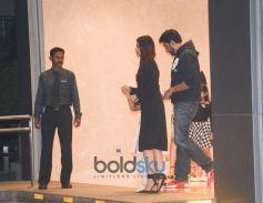 Aishwarya,Abhishek Bachchan With Daughter Aaradhya At Yauatcha BKC Bandra