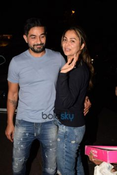 Amrita Arora Spotted With her Husband In Bandra