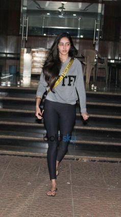 Ananya Pandey Spotted At Bandra