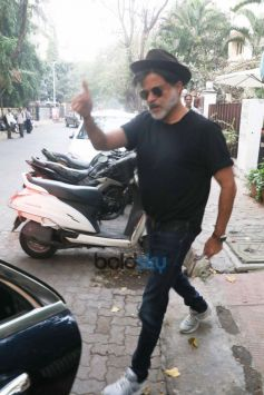 Anil Kapoor Spotted At B Blunt Khar