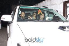 Bipasha Basu & Karan Singh Grover Spotted At Spa Juhu