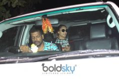 Bipasha Basu And Karan Singh Grover Spotted At Myrah SPA Juhu