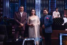 Bollywood Actress Hema Malini At 'Dance India Dance' Sets