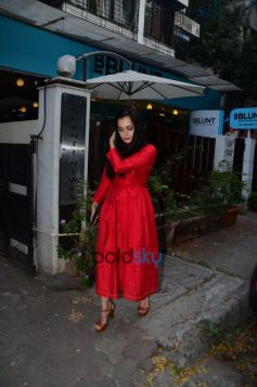 Dia Mirza Spotted At Salon