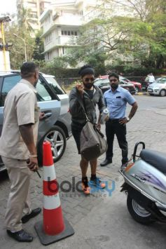 Farhan Akhtar Spotted At Otters Club Bandra