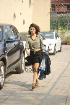 Fatima Sana Shaikh Spotted At Gym In Bandra