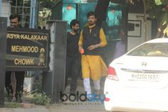 Irrfan Khan Spotted At Amazon Web Series Shoot In Juhu