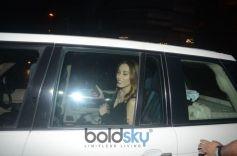 Iulia Vantur Spotted At Salon Bandra