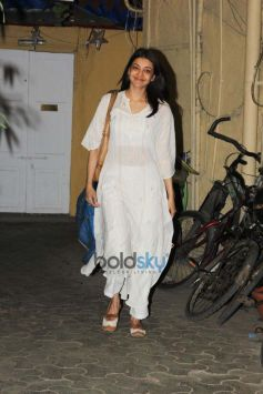 Kajal Aggarwal Spotted At Bandra