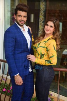 Karan Kundra And Zareen Khan At 1921 Interviews