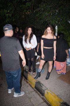 Lauren Gottlieb Spotted At Olive In Bandra