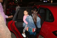 Mira Rajput With Daughter Misha Spotted At Khar