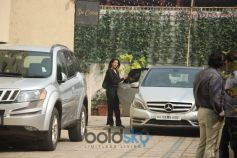 Nidhi Agrawal Spotted At Gym