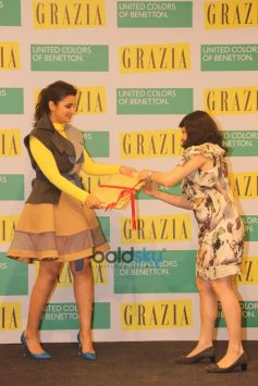 Parineeti Chopra At Cover Launch Of Grazia Magazine