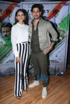 Rakul Preet Singh And Sidharth Malhotra Interview Of Upcoming Movie 'Aiyaary'