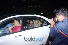 Ranbir Kapoor Spotted With Family  At Yauatcha BKC Bandra