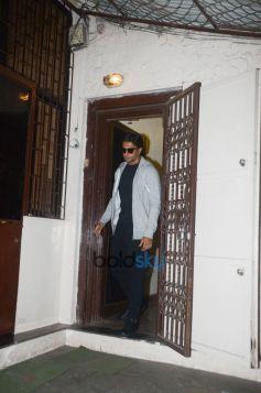 Ranveer Singh Spotted At Dubbing Studio Bandra