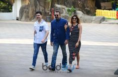 Sanjay Dutt And Dabboo Ratnani Spotted At Bandra