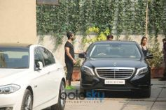 Shahid Kapoor And Mira Rajput At Gym In Bandra