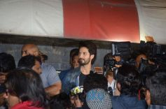 Shahid Kapoor Spotted At Chandan Cinema In Juhu