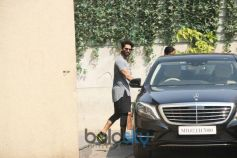 Shahid Kapoor And Wife Mira Rajput At Gym In Bandra