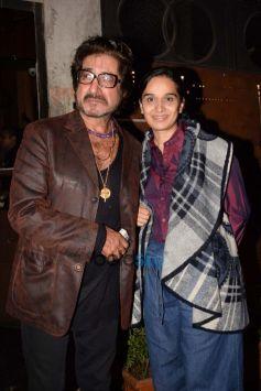 Shakti Kapoor & His Wife Shivangi Kolhapure Spotted At Juhu