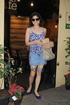 Shamita Shetty Spotted At Farmer Cafe In Bandra