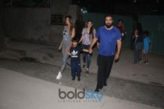 Shilpa Shetty With Her Family Spotted At Football Ground Juhu