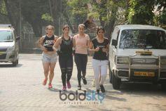 Shraddha Kapoor Spotted Jogging In Bandra