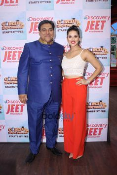 Sunny Leone At Non Fiction Show 'Comedy High School'