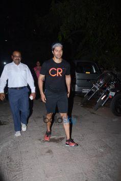 Varun Dhavan Spotted At Sujit Sarkar Office Juhu
