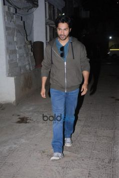 Varun Dhavan Spotted At Sujit Sarkar Office Juhu