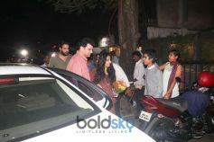 Vidya Balan With Siddharth Roy Kapoor Spotted At Sequel In Bandra